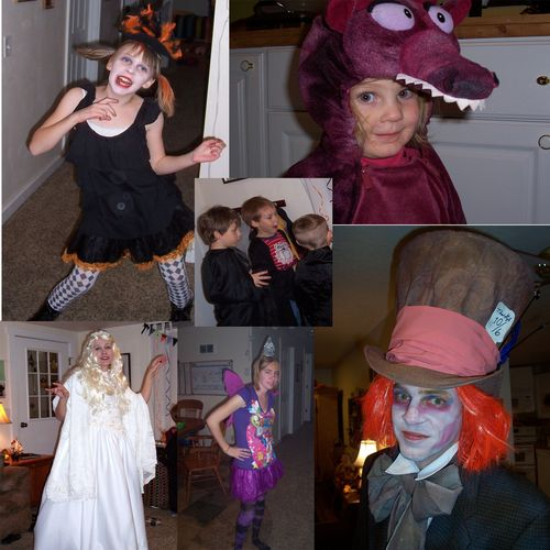 Halloween 2010 collage