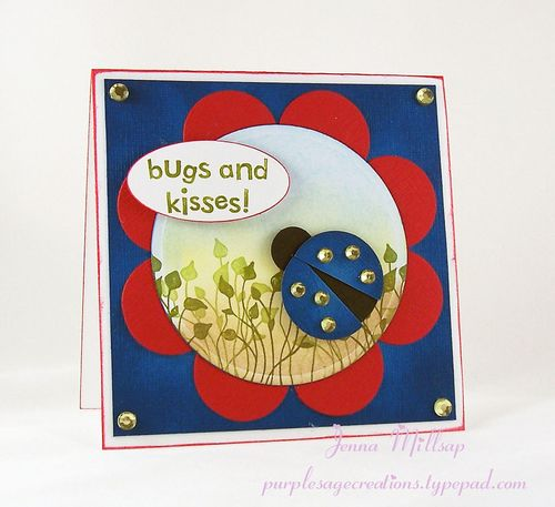 Lady bug card winner