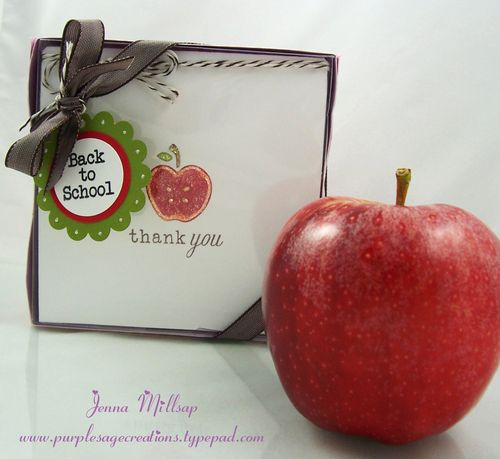 Teacher gift box