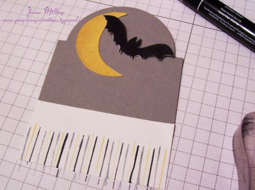 Halloween card how to