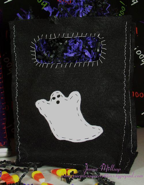 Black boo bag